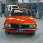 Restauratie Opel Ascona